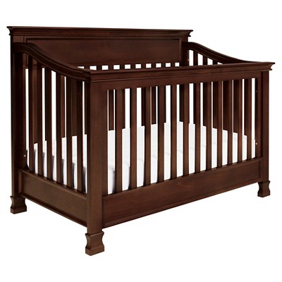 Million Dollar Baby Classic Foothill 4-in-1 Convertible Crib with Toddler Rail - Espresso