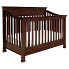 Million Dollar Baby Classic Foothill 4-in-1 Convertible Crib with Toddler Rail