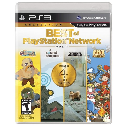 Best Of PlayStation Network Collection Volume 1 (PlayStation 3)