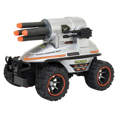 New Bright 1:24 R/C Full Function Drone Missile Launcher