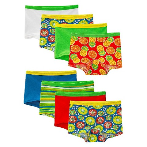 Fruit Of The Loom® Girls' 8 +2 Free Cotton Boyshort -  Assorted