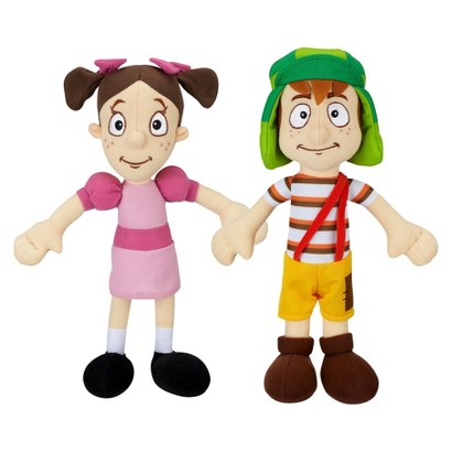 "El Chavo and Popis Huggable Plush Friends (12"")"