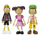 El Chavo, Quico and Popis Vinyl Figures - Pack of 3