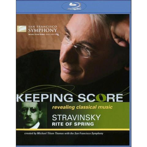 Keeping Score: Stravinsky - Rite of Spring (Blu-ray) (Widescreen)