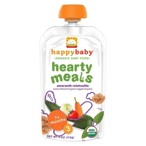 Happy Baby Meal Pouch - Amaranth Ratatouille 4oz (8 Pack)