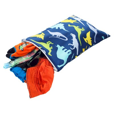 Itzy Ritzy Travel Happens™ Sealed Wet Bag - Dino-Mite!