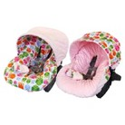 Itzy Ritzy Baby Ritzy Rider™ Infant Car Seat Cover - Hoot