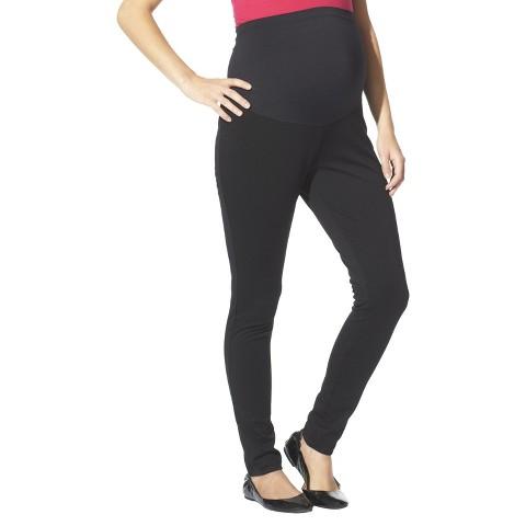 Maternity Over the Belly Ponte Pants Black-Liz Lange® for Target®