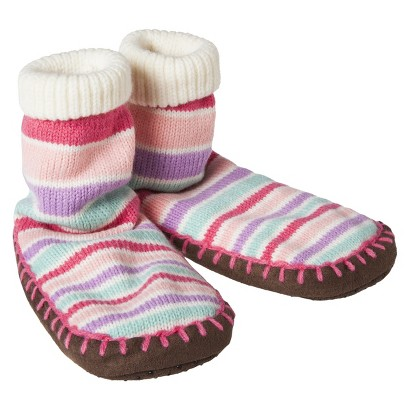 Circo® Infant Girls' Slipper Sock - Pastel