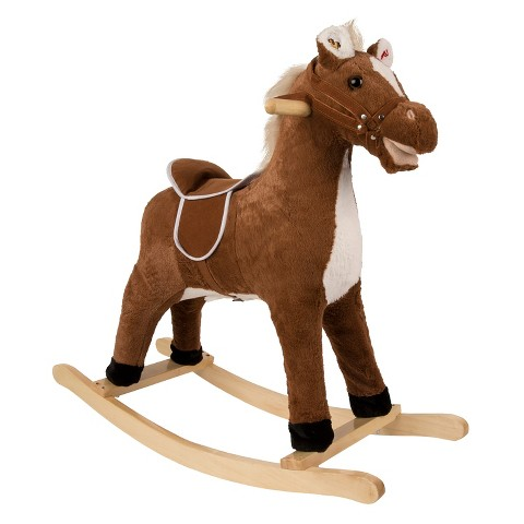 Rockin' Rider Brownie Rocking Horse