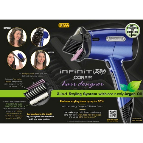 Conair Infiniti Pro Argan Oil Dryer - Blue