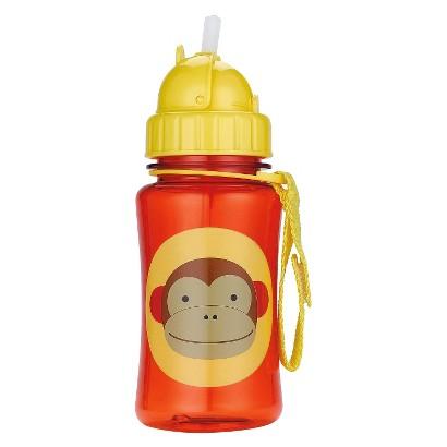 Skip Hop Zoo Toddler Flip-Straw Bottle - Monkey