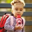 Skip Hop Zoo Toddler Flip-Straw Bottle - Ladybug