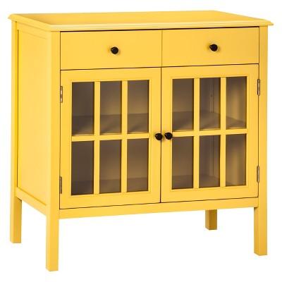 Windham Storage Cabinet with Drawer - Yellow - Threshold™