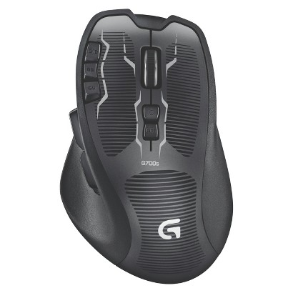 Logitech G700S Rechargeable Gaming Mouse - Black (910-003584)
