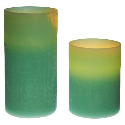 Energizer 2 Pack Flameless Candles - Assorted Colors/Scents