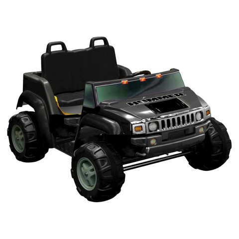 Kid Motorz Hummer H2 12V Two Seater Ride On - Black