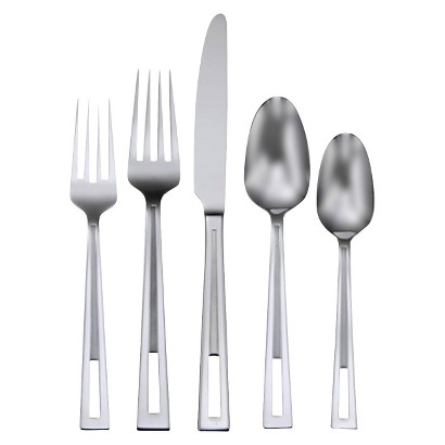 Oneida Circuit 45 Piece Flatware Set