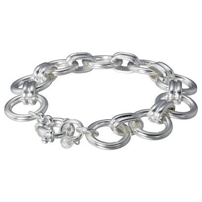 Lonna & Lilly Circle Link Bracelet - Silver