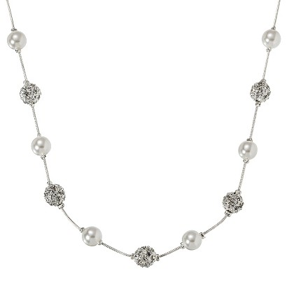 Lonna & Lilly Pearl Necklace - Silver