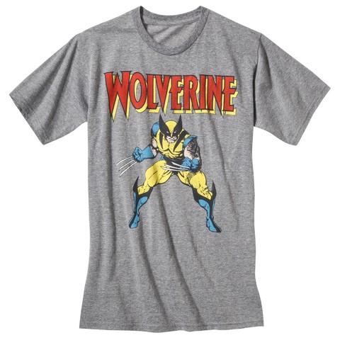 Men's Wolverine T-Shirt Gray