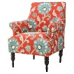 Candace Upholstered Arm Chair - Floral