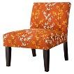 Avington Upholstered Slipper Chair - Berries & Branches