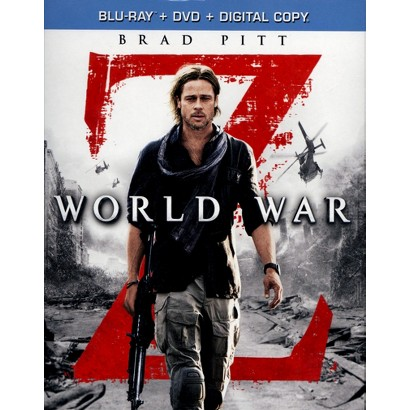 World War Z (Unrated) (2 Discs) (Includes Digital Copy) (Blu-ray/DVD) (W) (Widescreen)