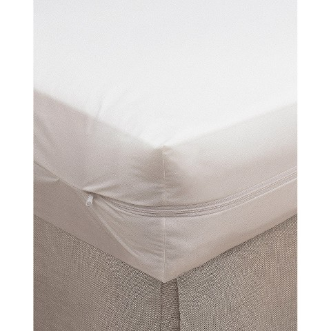 Bargoose 100% Cotton Zippered Crib Mattress Cover