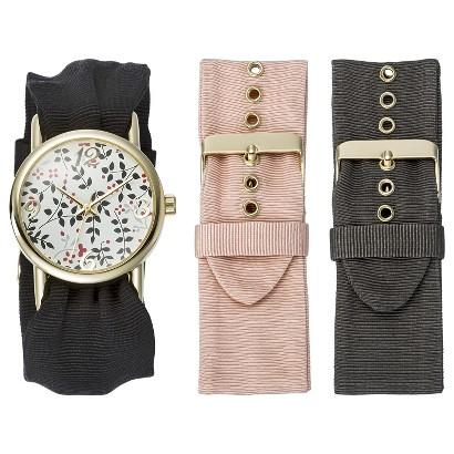 Women's Xhilaration® Wristwatch - Black
