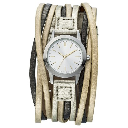 Women's Mossimo® Layered Cuff Analog Watch - Assort