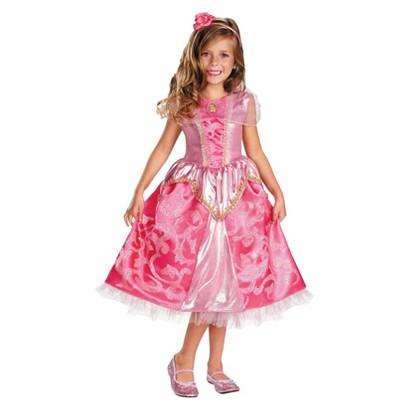 Toddler/Girl's Disney Princess Aurora Sparkle Deluxe Costume