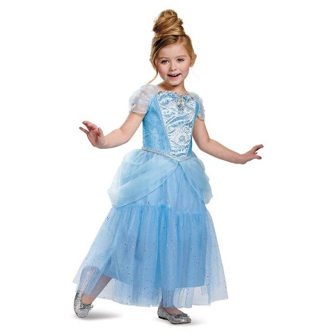Toddler/Girl's Disney Princess Cinderella Sparkle Deluxe Costume