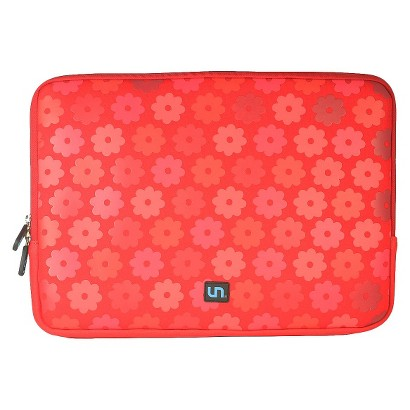 Uncommon Daisy 15 Laptop Sleeve for MacBook Air - Pink