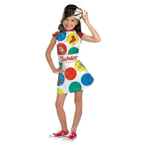 Girls' Twister Costume