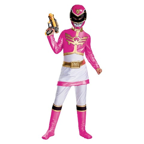 Girl's Power Rangers Pink Power Rangers Megaforce Deluxe Costume