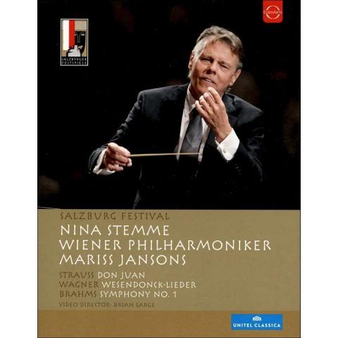 Salzburg Festival 2012: Strauss/Wagner/Brahms (Blu-ray) (Widescreen)