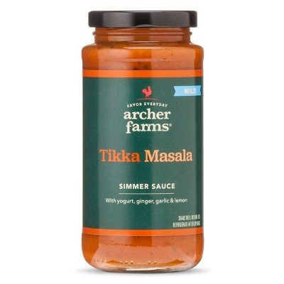Mild Tikka Masala Simmer Sauce 11.8oz - Archer Farms™
