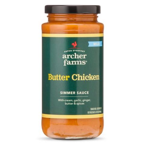 Archer Farms Butter Chicken Simmer Sauce 11.8 oz
