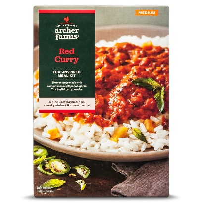 Archer Farms Medium Red Curry Meal Kit 17.9 oz