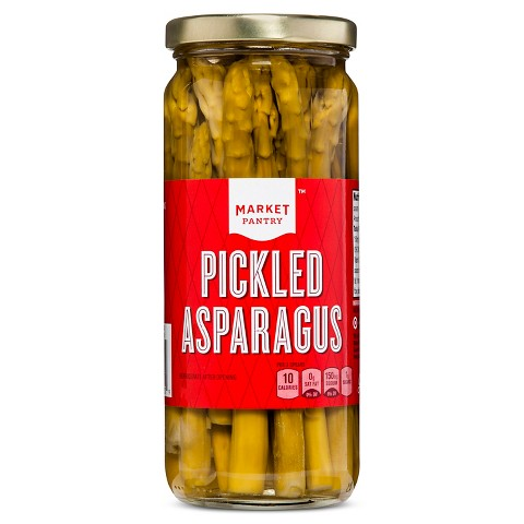 Pickled Asparagus 16 oz - Market Pantry™