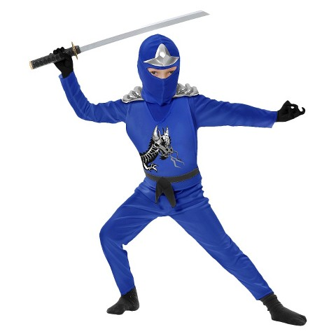 Toddler/Boy's Ninja Avengers Series II Blue Costume