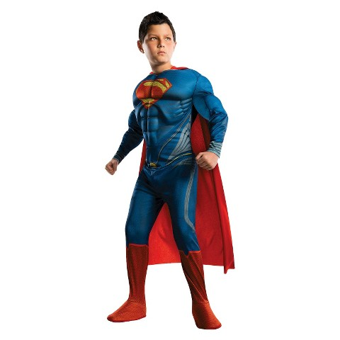 toddler superman man of steel deluxe costume 2t 4t target. Black Bedroom Furniture Sets. Home Design Ideas