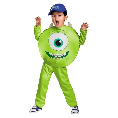 Toddler/Boy's Monsters University Mike Classic Costume