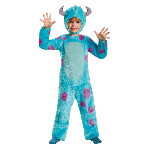 Toddler/Boy's Monsters University Sulley Costume