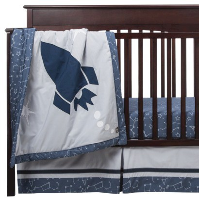 To the Moon and Back 3pc Crib Set by Lab