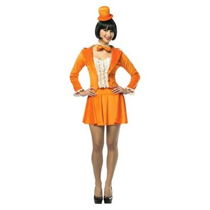 Women's Dumb and Dumber Lloyd Christmas Tuxedo Dress Costume- One Size Fits Most