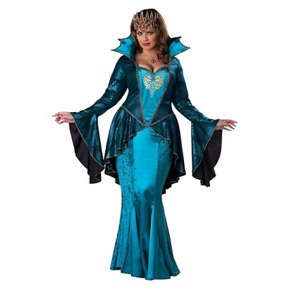 Women's Medieval Queen Costume - Plus Size