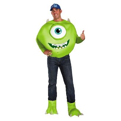 Men's Monsters University Mike Deluxe Costume - XXL