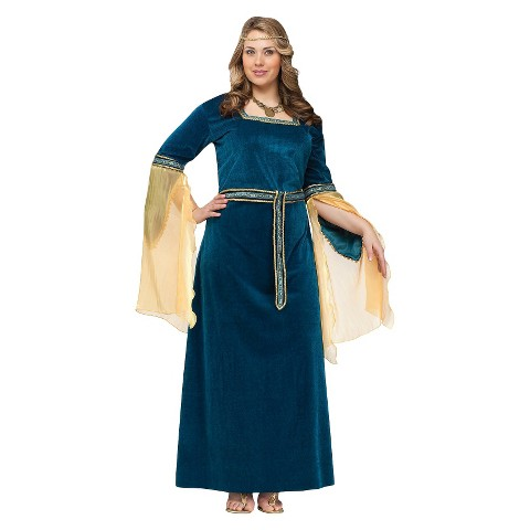 Women's Renaissance Princess Costume - Plus Size